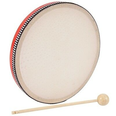 Performance Percussion Hand Drum- Red