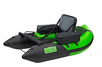 MADCAT Belly Boat / Float Tube 170cm inkl. Tasche, Pumpe & Reperatur Kit by DAM