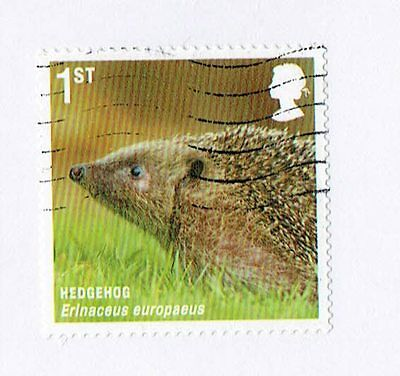 GB Stamps 2010. Mammals Used Self-adhesive Booklet Stamp SG 3096.