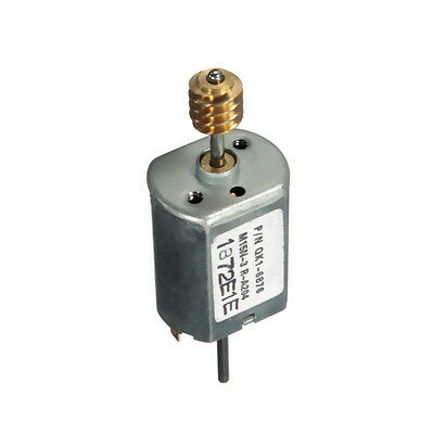 1pcs DC12V 13500 RPM Speed 1.5mm Dia Shaft Magnetic Electric DC Worm Motor NEW
