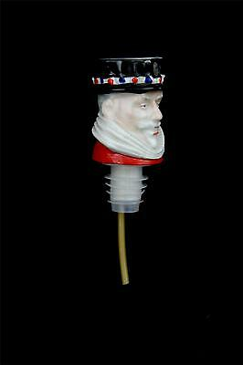Beefeater Gin Liquor Bottle Spout Wade Made in England Porcelain