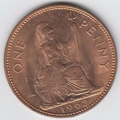 1962 Penny UNC