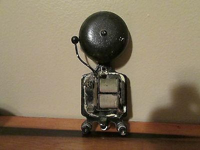 Antique Cast Iron Bell Buzzer Tattoo Buzzer U.s.a.