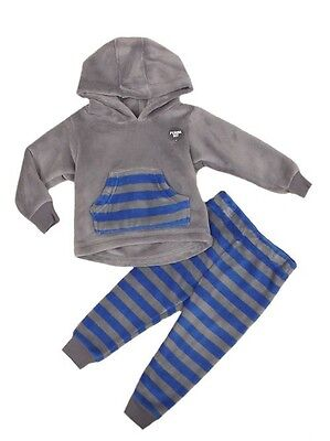 Ex- M&S Boys Supersoft Fleece Pyjamas Pj Set Bnwot Ages 1 2 3 4 5 6 7