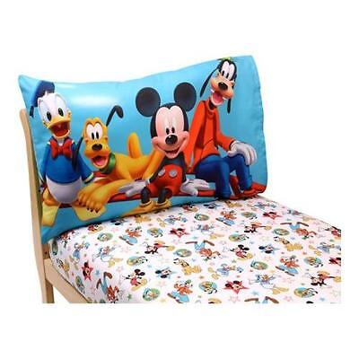 Disney Mickey Mouse Playground Pals 2-Piece Toddler Sheet Set