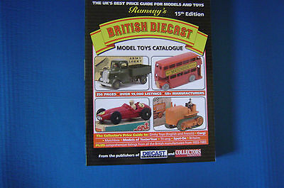 LATEST 15th RAMSAY Diecast British Toys Price Guide DINKY CORGI MATCHBOX others