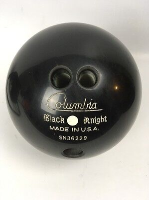 Columbia Black Knight Bowling Ball Made in USA 5N36229