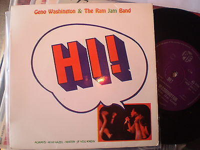 Geno Washington - Hi - New Zealand Ep