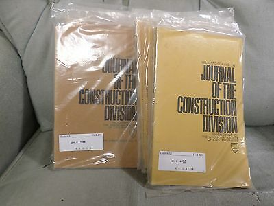 ASCE Journal of the Construction Division 17 Issues 1970s