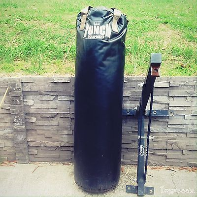 Punch Boxing Bag With Smai Mounting Bracket