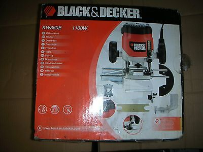 black and decker kw850e router