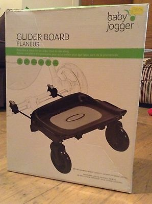 baby jogger glider/buggy board: planeur