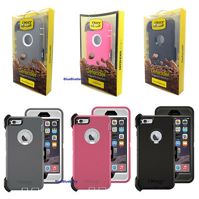 New Otterbox Defender Series Case Cover for Iphone 6 Plus & 6s Plus Holster OEM