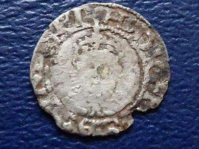 Great Britain - Henry Viii Hammered Silver Penny