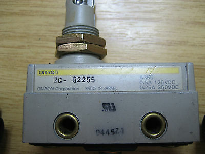 Omron Roller Plunger Industrial Limit Switch Micro Switch ZC Q2255 NC/NO Prcis..