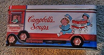 Campbell's Soup Bus Tin