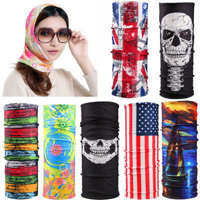 Tube Scarf Bandana Head Face Mask Neck Gaiter Snood Headwear Beanie for Unisex