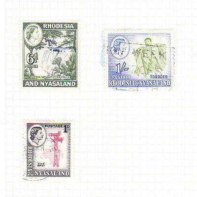 Rhodesia and Nyasaland Stamps