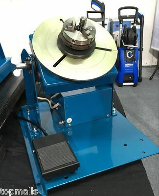 New 2-10RPM 10KG Light Duty Welding Turntable Positioner with 65mm Chuck