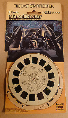 HTF The Last Starfighter view master reels with package