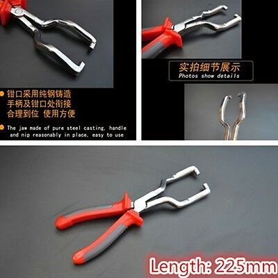 225MM Fuel line Clip Pipe Hose Release Disconnect Removal Pliers Tool For Audi