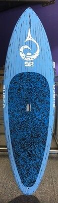 """Supco 8'6"""" Apache Brushed Carbon Stand Up Paddle Board ( Free Freight)"""