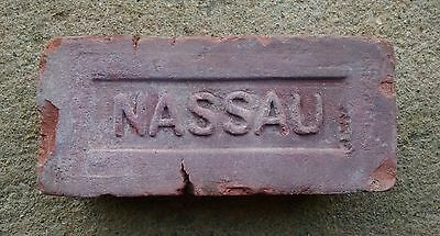 Vintage NASSAU Brick Historical Architectural Long Island New York