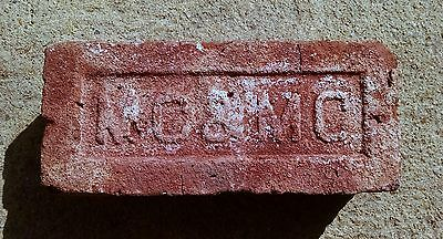 Antique Vintage MC & MC Brick Historical Architectural