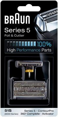 BRAUN 51s - Series 5 - 360 Complete Shaver Foil&Cutter - Replacement Combi Pack
