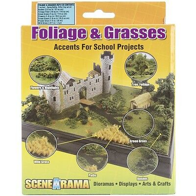 Woodland Scenics SP4120 Diorama Kit Foliage & Grasses NEW
