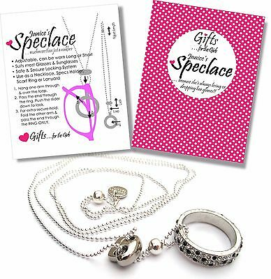 Safe Glasses Sunglasses Retainer Necklace Spectacles Hanger Scarf Ring Lanyard