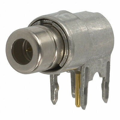 Amp 221014-1 SMB Connector Jack Male Pin 75 Ohm Through Hole Right Angle Solder