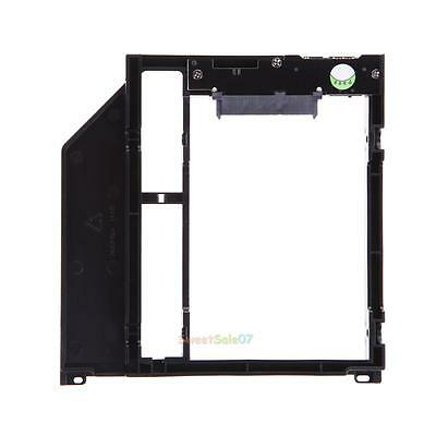 Universal Optical bay 2nd HDD Hard Drive Caddy SATA 9.5mm for Apple Macbook Pro