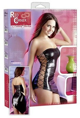 Red Corner Wetlookkleid L Women |52