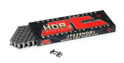 JT Heavy Duty Roller Chain 428HDR 132 links fits Hyosung XRX125 SM 07-08