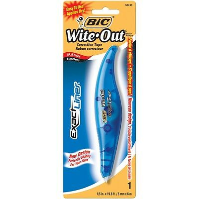 """Bic Wite Out Exact Liner Correction Tape-.2""""X19.8'"""