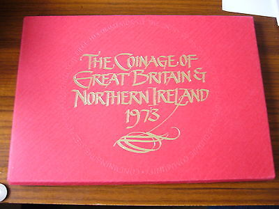 Royal Mint 1973 Coinage Of Great Britain And Northern Ireland Set