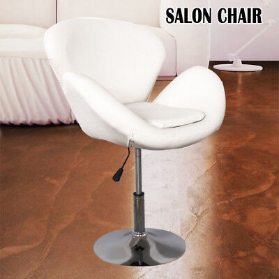 White Leather Style Hairdresser/barber Swivel Chair Beauty Salon Furniture