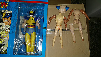 ☆BLACK FRIDAY☆ WOLVERINE FIGURE 30cm MUSCLE BODY HOT TOYS 'EXCLUSIVE 1/6