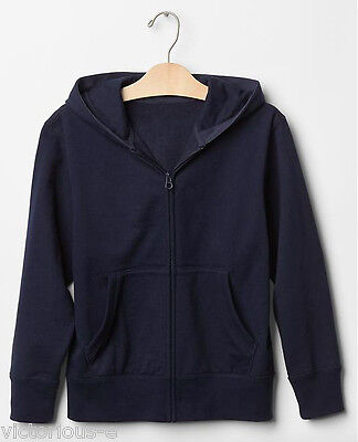 GAP Kids Navy Blue Zip front Hoodie Sweatshirt - Size M / Age 8 BNWT AUTHENTIC!