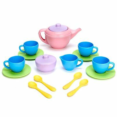 Green Toys TEA01R Tea Set NEW