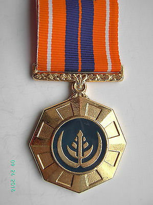 South Africa Sadf Pro Patria  Medal Numbered