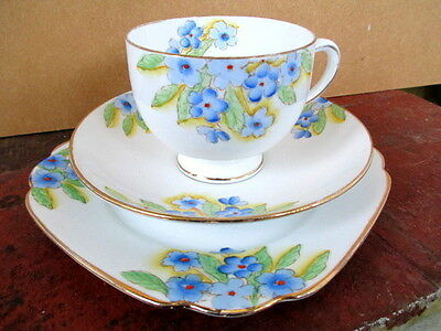 Art Deco / Vintage China Tea Set Trio.Standard China.2028.British.