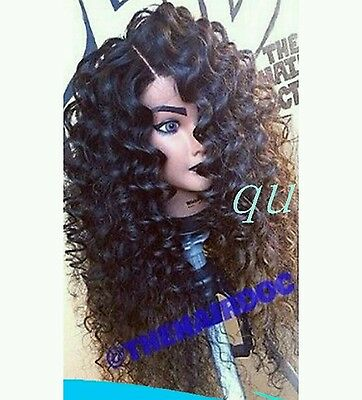 Long Curly. Heat resistant. Curly. deep lace front