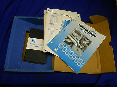 Buick Riviera Window Sealing KH-181 1995 Service Technician Manual Know How set