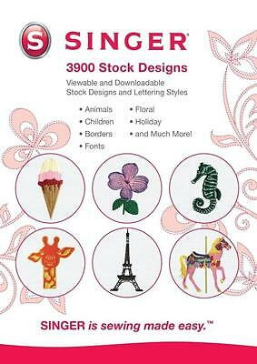 3,900 Digitized Embroidery Designs, 21 Design Fonts, & 11 Lettering Styles NEW