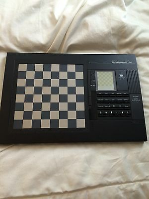 Electronic Chess Champion 2150L Computer Lcd Display Vintage game