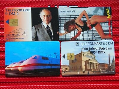 4 germany mint chip phonecards