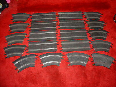 Job Lot Of Scalextric Set Classic Track Free Shipping