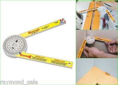 Starrett Miter Saw Protractor Angle Scales Engineered Plastic Pro-Site Workshop